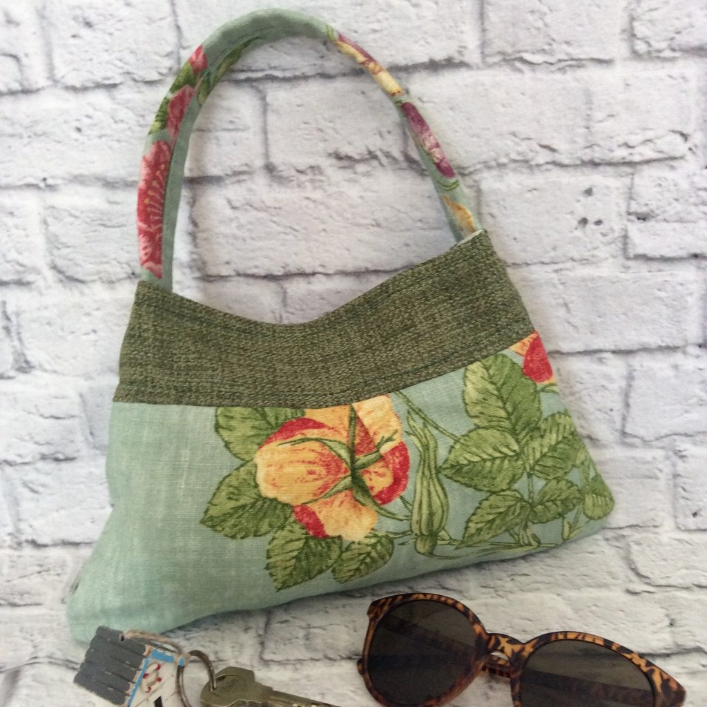 Up-cycled and Re-cycled Fabric Shoulder Bag