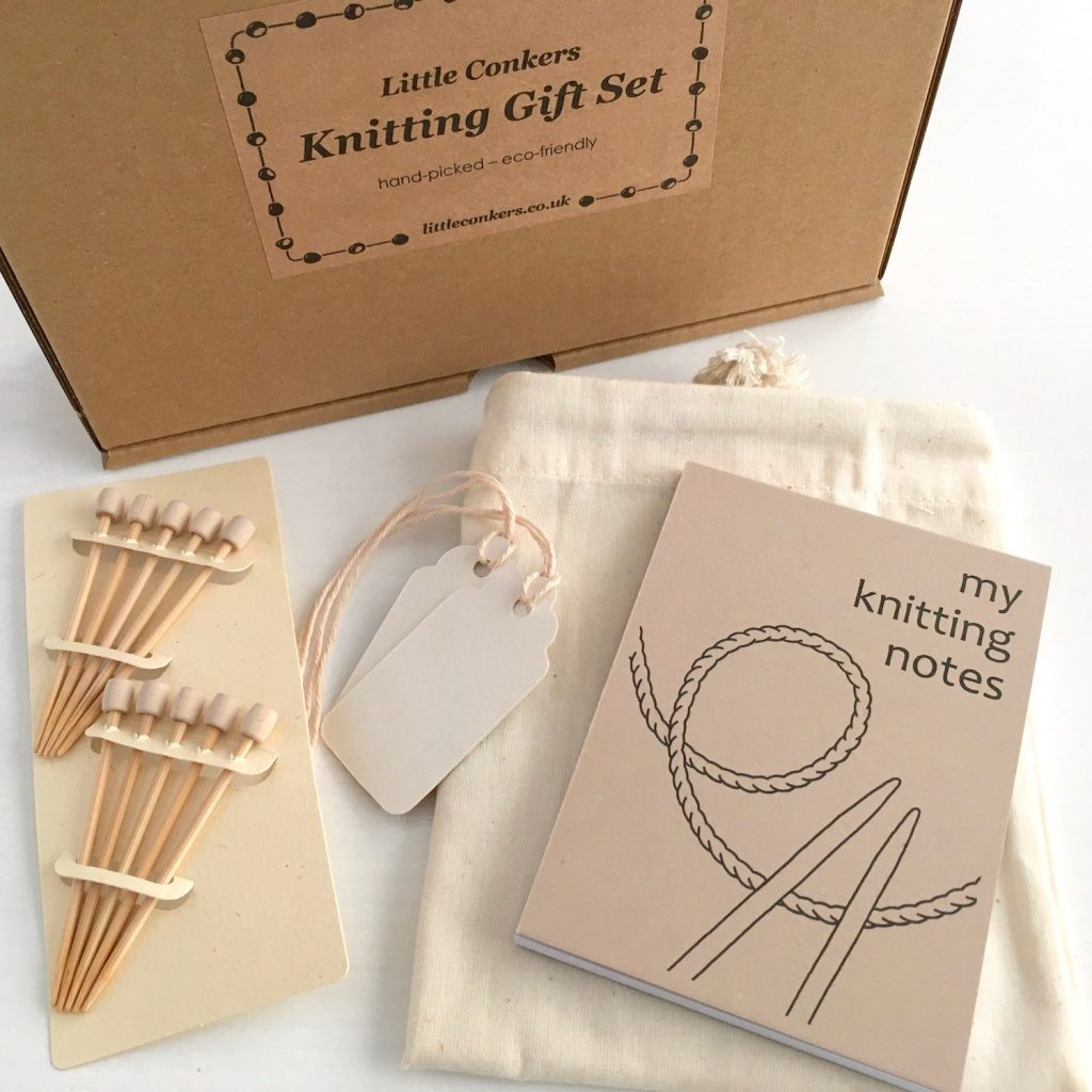 Eco-friendly Gift Set for Knitters