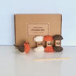 Crochet Robin Kit by Little Conkers