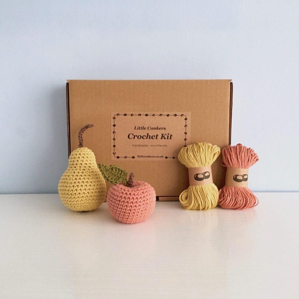 Apple and Pear Fruit Crochet Kit