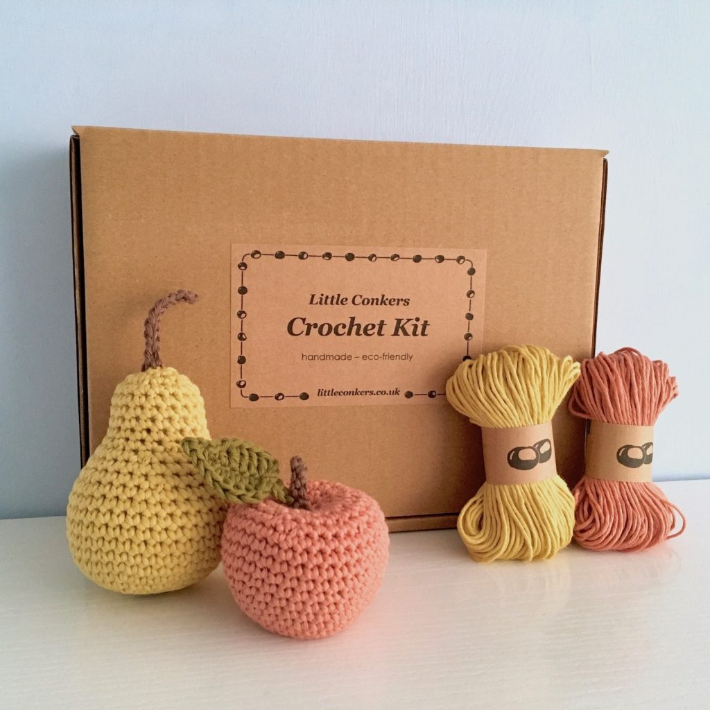 Apple and Pear Crochet Kit