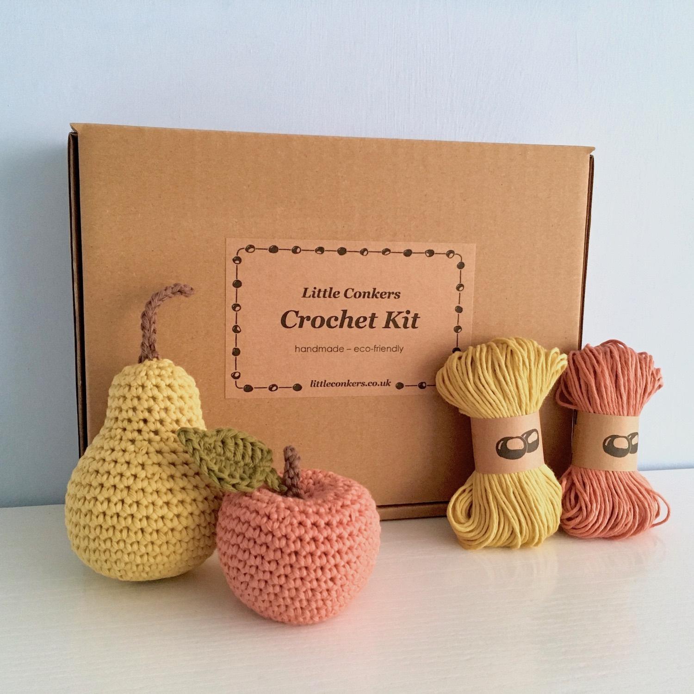 Apple and Pear Crochet Kit